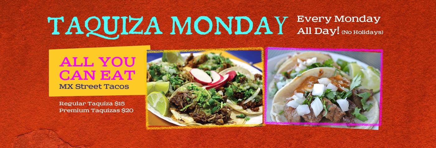 Leticia's Taquiza Monday