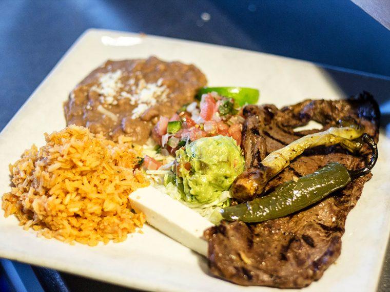 Leticia's Carne Asada Dinner