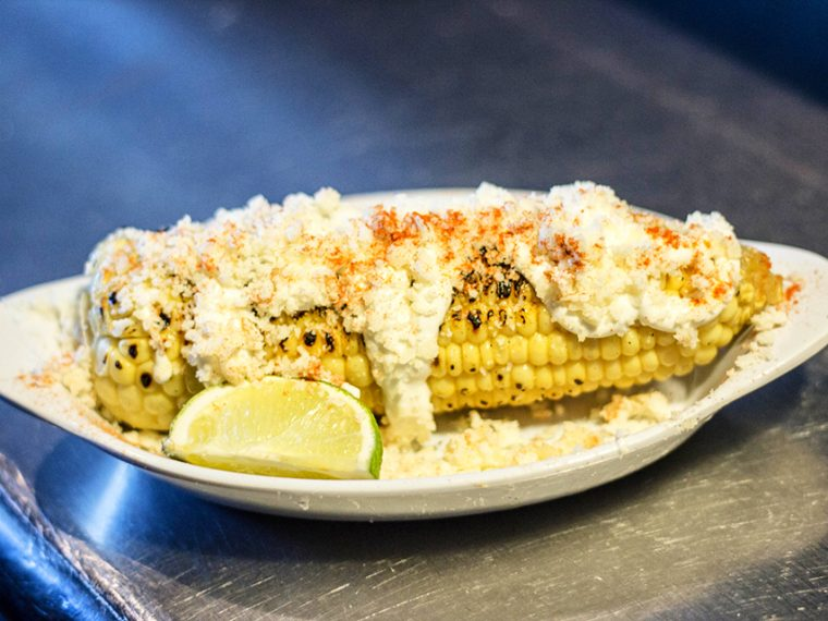 """""""Elote"""" Mexican Grilled Corn"""