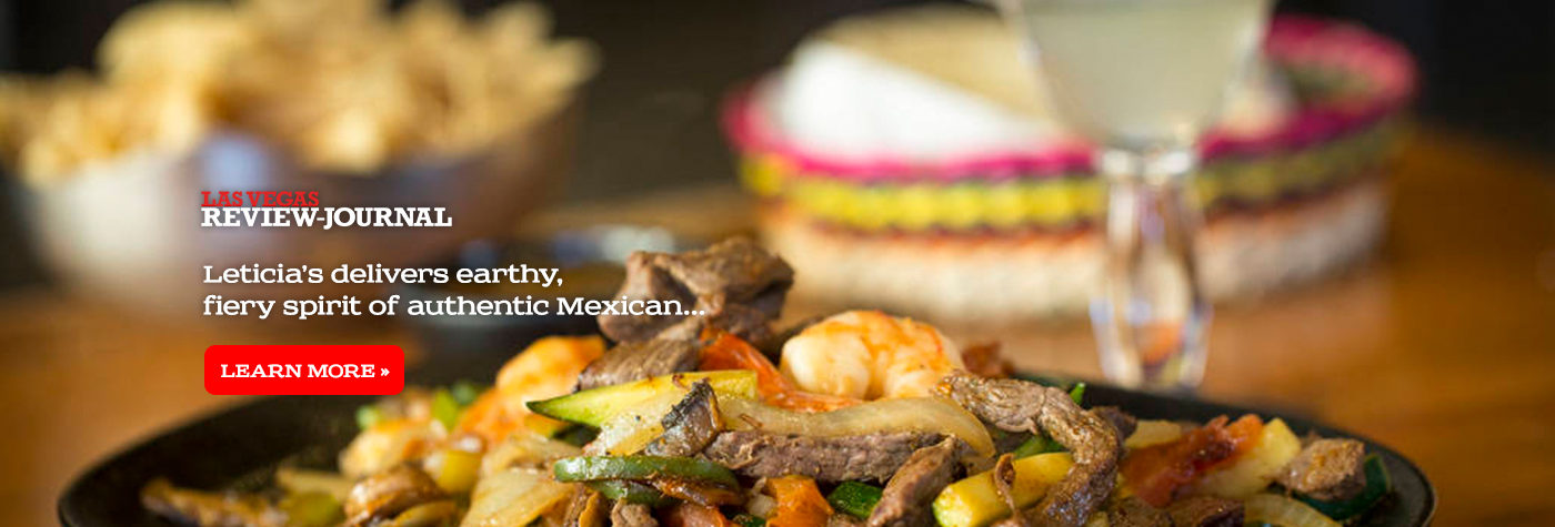 Leticia's Mexican Cocina - Review Journal